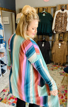 Load image into Gallery viewer, Rayoma Rainbow Cardigan