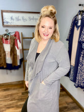Load image into Gallery viewer, Charla Charcoal Cardigan