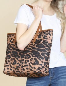 The Lacey Leopard Purse