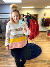 Load image into Gallery viewer, Macey Chunky Colorblock Sweater