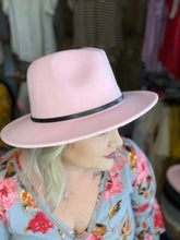 Load image into Gallery viewer, Wide Brimmed Fedora Hats (Multiple Colors)
