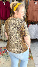 Load image into Gallery viewer, Let Loose Leopard Top with Buttons