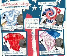 Load image into Gallery viewer, May Subscription Box: Let Freedom Ring