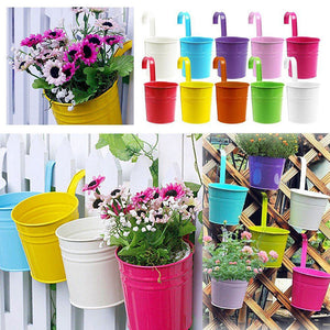 Colorful Hanging Flower Pot