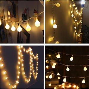 Fairy Garland LED Ball String Lights
