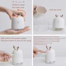 Load image into Gallery viewer, Ultrasonic Air Humidifier-Essential Oil Diffuser