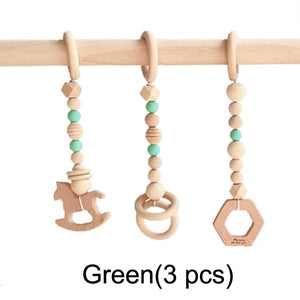 Wooden Frame Baby Play Set