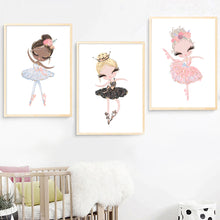 Load image into Gallery viewer, Ballerina Wall Art