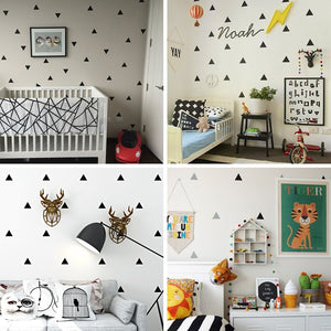 Triangles Wall Sticker Decals
