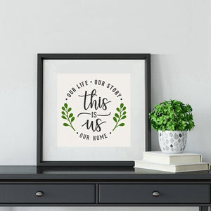 This is Us Love Wall Art Canvas Print