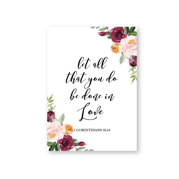 Love Quotes Wall Art Canvas Painting
