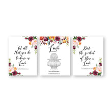Load image into Gallery viewer, Love Quotes Wall Art Canvas Painting