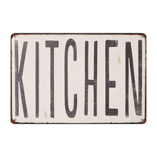 "Load image into Gallery viewer, Metal ""Kitchen"" Sign"