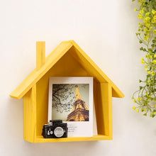 Load image into Gallery viewer, Wooden House Shelf