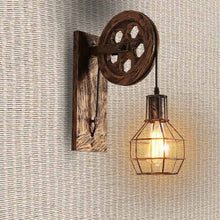 Load image into Gallery viewer, Pulley Wall Lamp
