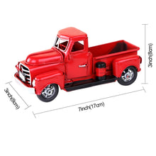 Load image into Gallery viewer, Vintage Red Truck