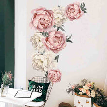 Load image into Gallery viewer, Peony Flowers Wall Stickers