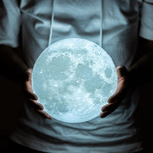 Load image into Gallery viewer, Moon Touch Lamp with Color Change