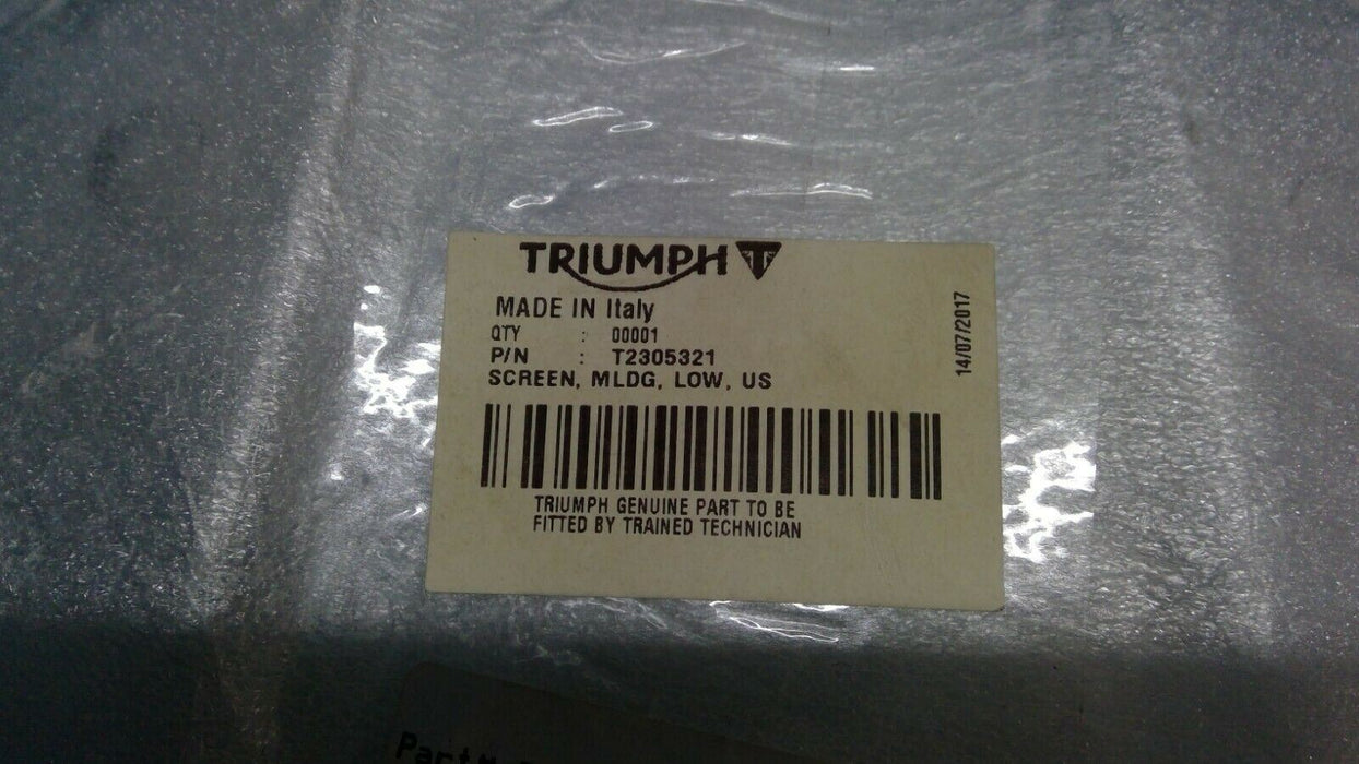 Triumph Low Screen - T2305321 - Motolifestyle