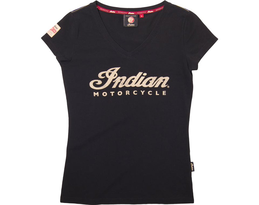 Indian Motorcycle Womens Script Logo T-Shirt - Motolifestyle
