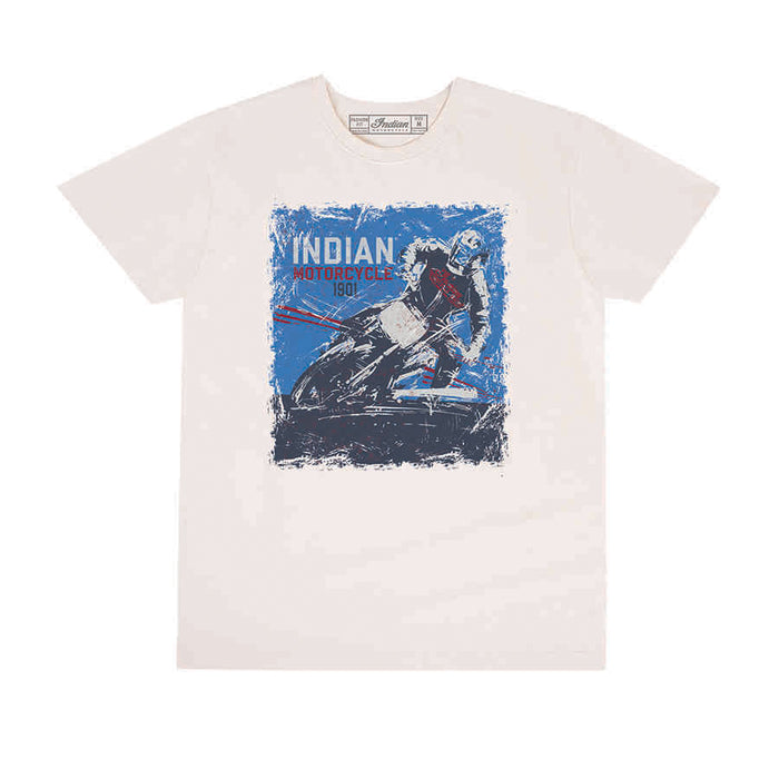 Indian Motorcycle Mens Adventure Graphic T-Shirt - Motolifestyle
