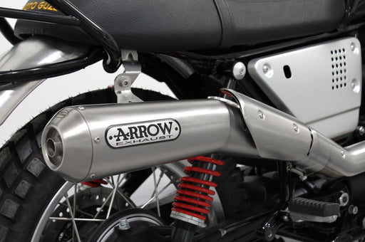 Moto Guzzi Arrow 2 in 1 High Exhaust System Euro4 - 2S000897 - Motolifestyle