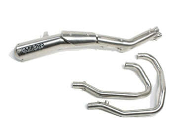 Moto Guzzi 2 in 1 High Exhaust USA Arrow - 2S000627 - Motolifestyle