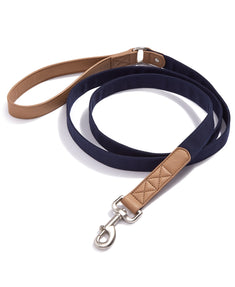 House Of Barker Navy Blue Leash 6 Ft Navy