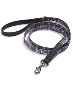 House Of Barker Black/white Leash 6 Ft