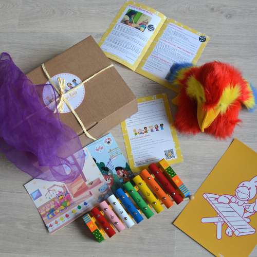 Carte cadeau 3 box Virtuosi Kids