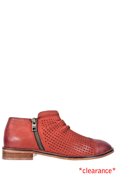 Owen Red Leather