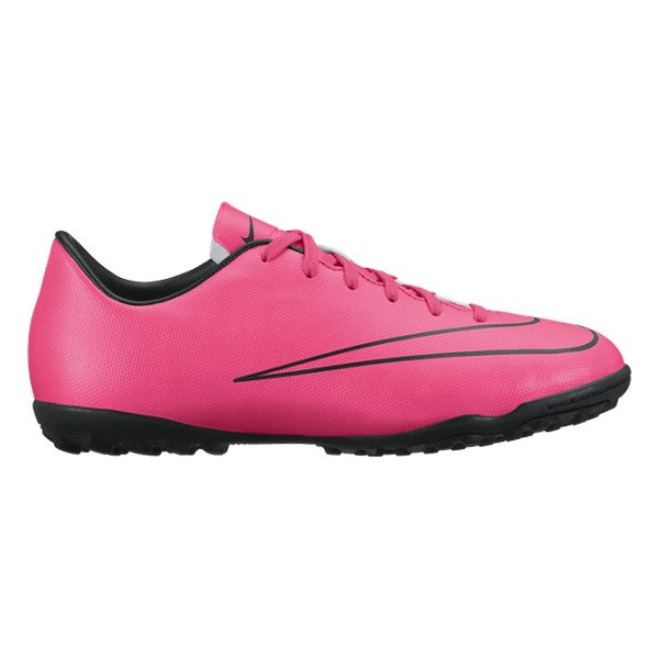 Chaussures de Football Multi-crampons pour Enfants Nike JR Mercurial Victory V TF Rose