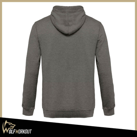 Sweat Zippé à Capuche Chiné (3 coloris)