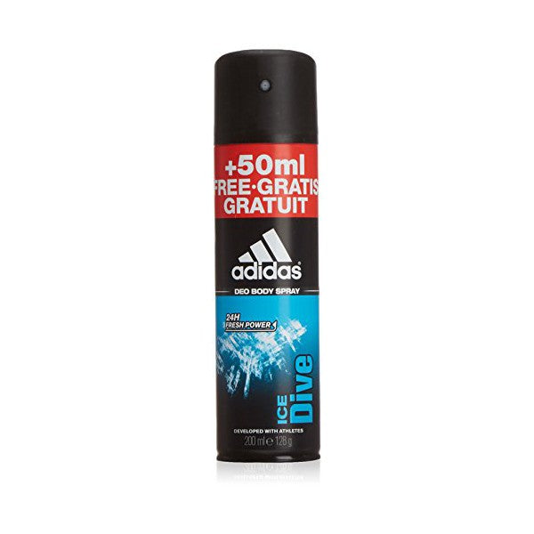 Spray déodorant Ice Dive Adidas (200 ml)