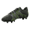 Chaussures de Football pour Adultes Adidas X 15.2 FG/AG Leather Noir