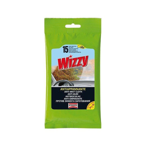 Anti-Buée Arexons Wizzy Lingettes (15 uds)