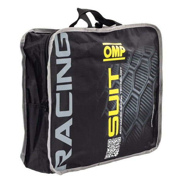 Mono Racing OMP First Evo Noir/Gris (Taille 54)