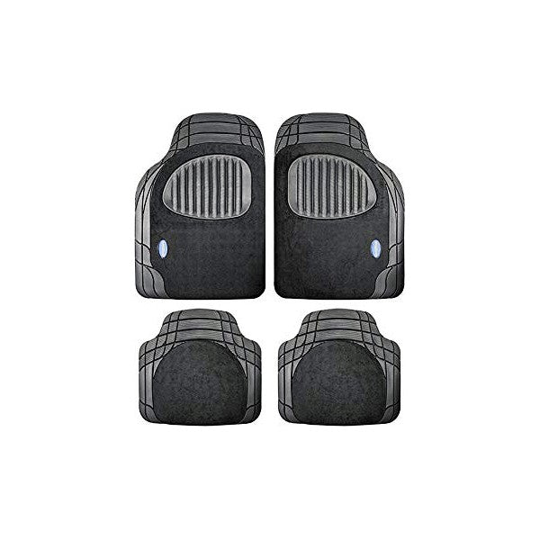 Set de tapis de voitures Goodyear GOD9024 Universel Noir (4 pcs)