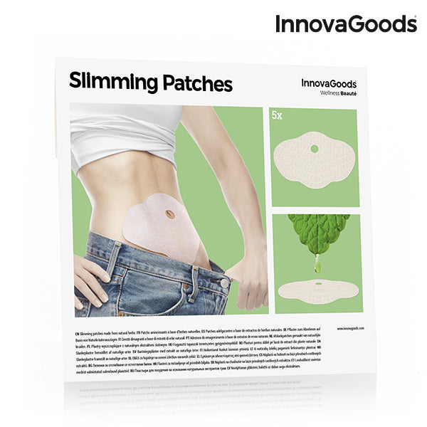 Patchs Amincissants InnovaGoods (Pack de 5)