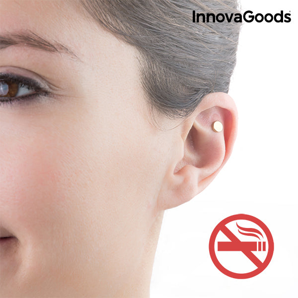 Aimant Anti-tabac d'Acupression InnovaGoods