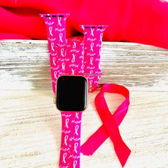 breast cancer awareness band wide