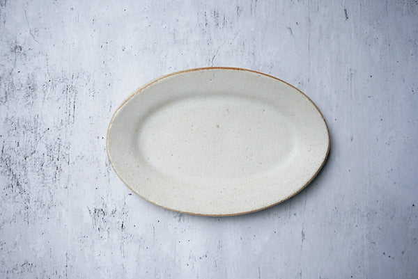Satomi Ito - Oval Plate S