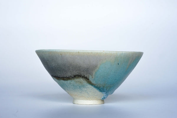Shiren - Monet Rice Bowl Turquoise