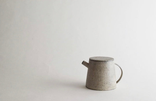 """PREORDER"" Takashi Endoh - Trapezoid Tea Pot (CLOSED)"