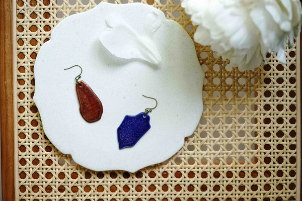 Soryu-gama - Ishizue Dangled Earrings
