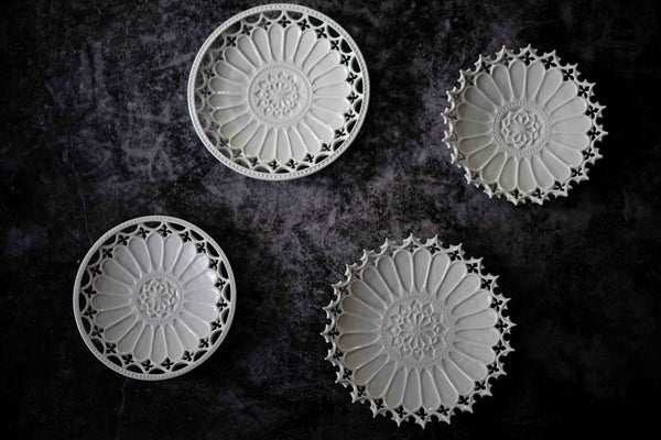 """PREORDER"" Taketoshi Ito - Sculpted Flower Plates"