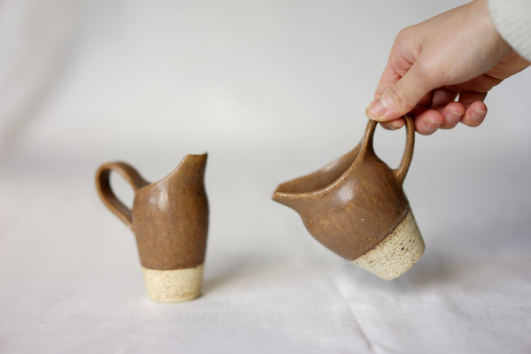 Satomi Ito - Milk Pitchers Toffee Brown