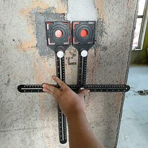 All aluminum alloy tile template tool