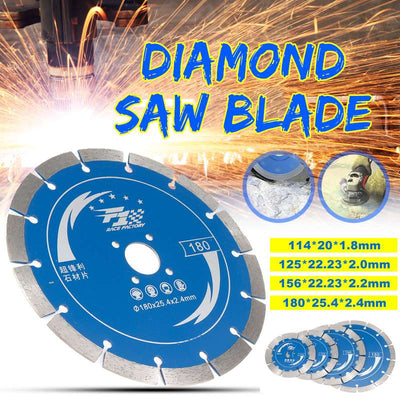 114/125/156/180mm diamond saw blade