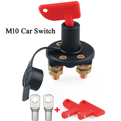 12V 24V red key cut off battery main power switch